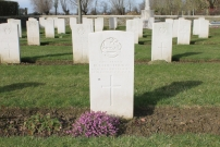Fauquissart Military Cemetery, Laventie, France