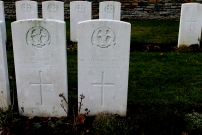 Rue-David Military Cemetery, Fleurbaix, France